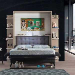 Armoire lit escamotable vertical 2 places Smart lit