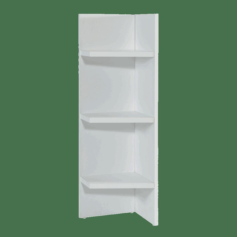 Lit escamotable horizontal 1 place etagere 2