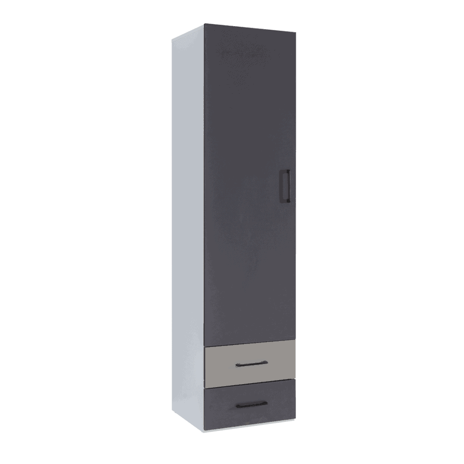 Armoire colonne verticale avec tiroirs
