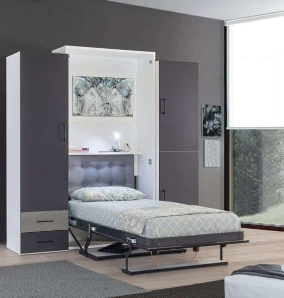 armoire-lit-escamotable-vertical-1-place-dans-chambre-lit-ouvert
