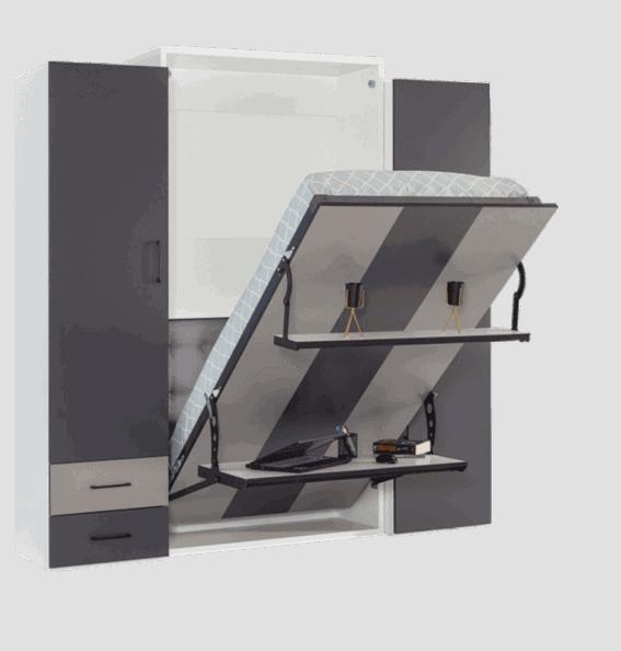 armorire lit escamotable verticale 1 place