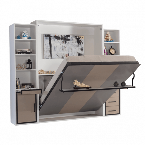 armoire-lit-escamotable-vertical-2-places-gris-anthracite-lit-ouvert-2