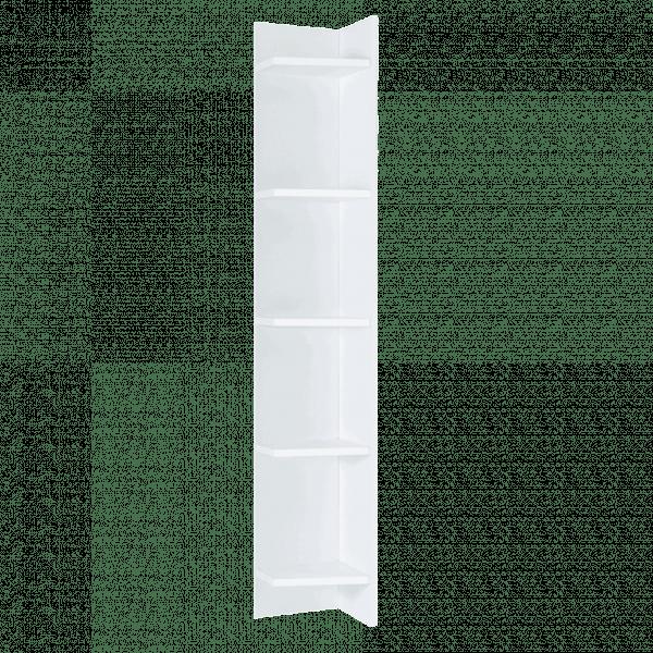 Lit escamotable Pratix | etageres multiples blanch