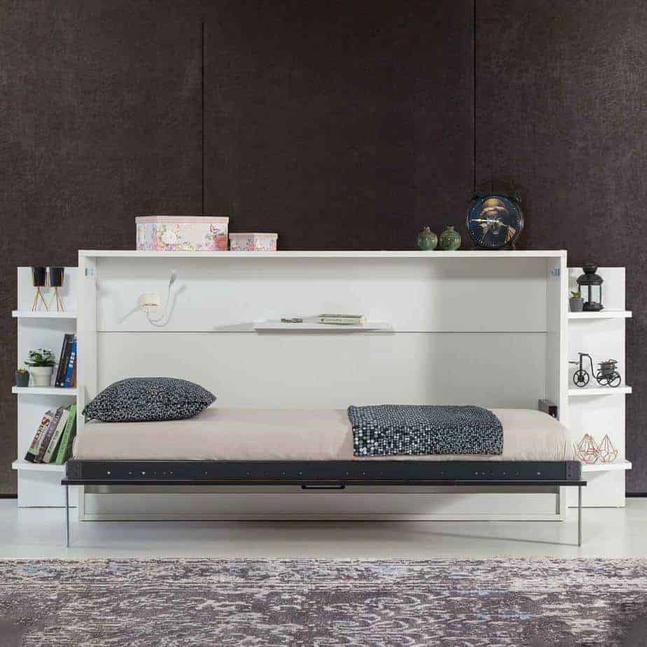 lit escamotable pour minimalisme