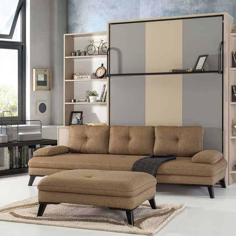 pouf scandinave avec meubles 1